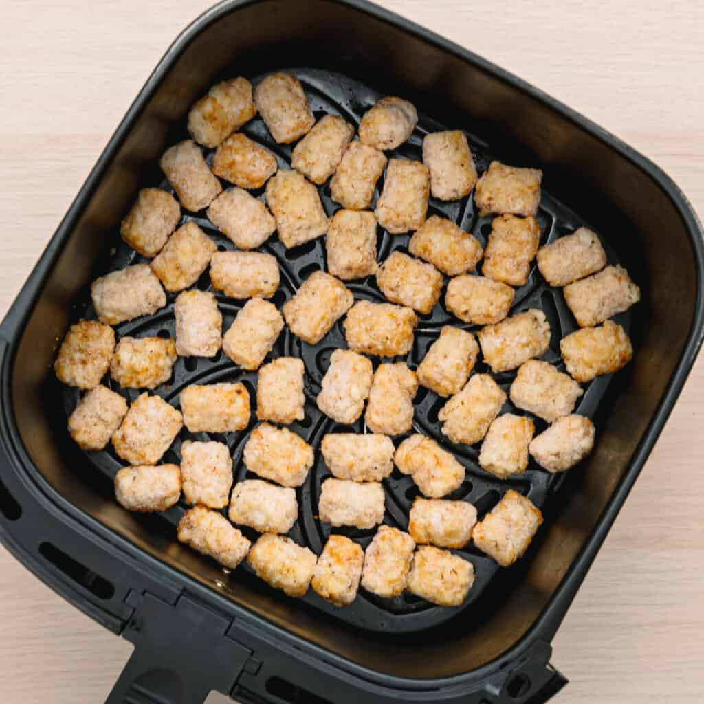 tater tots in an air fryer.