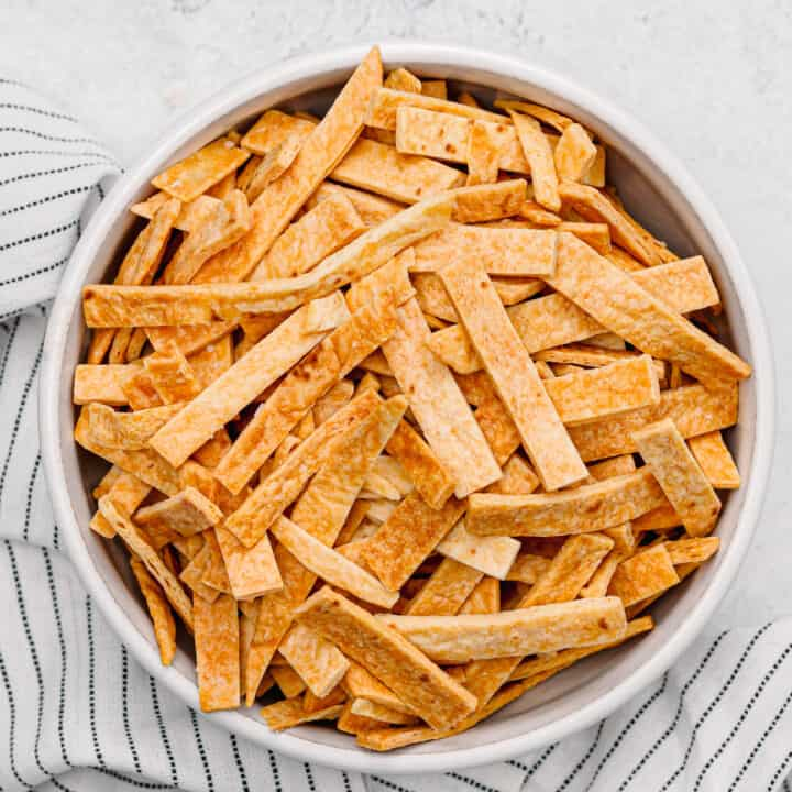 Air Fryer Tortilla Strips.