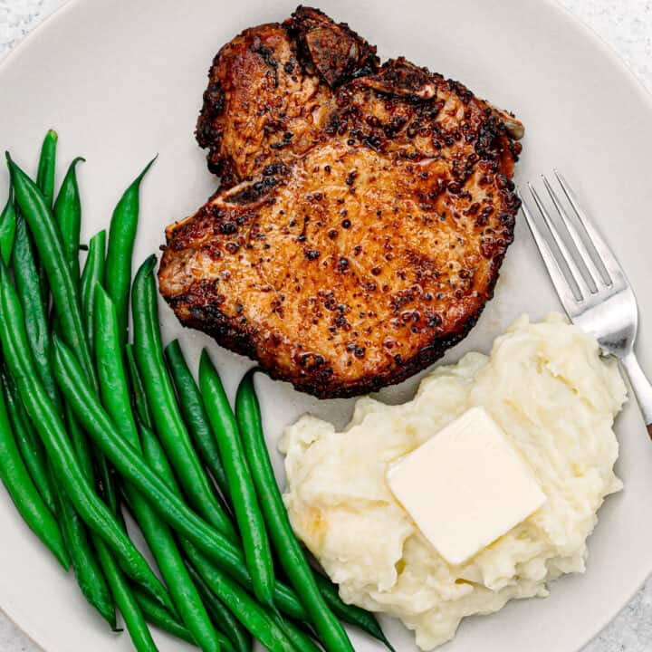 air fryer bone in pork chops.