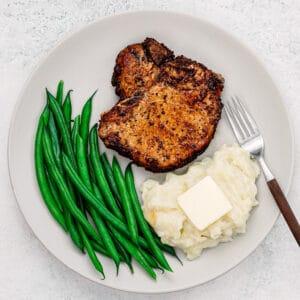 air fryer bone-in pork chops.
