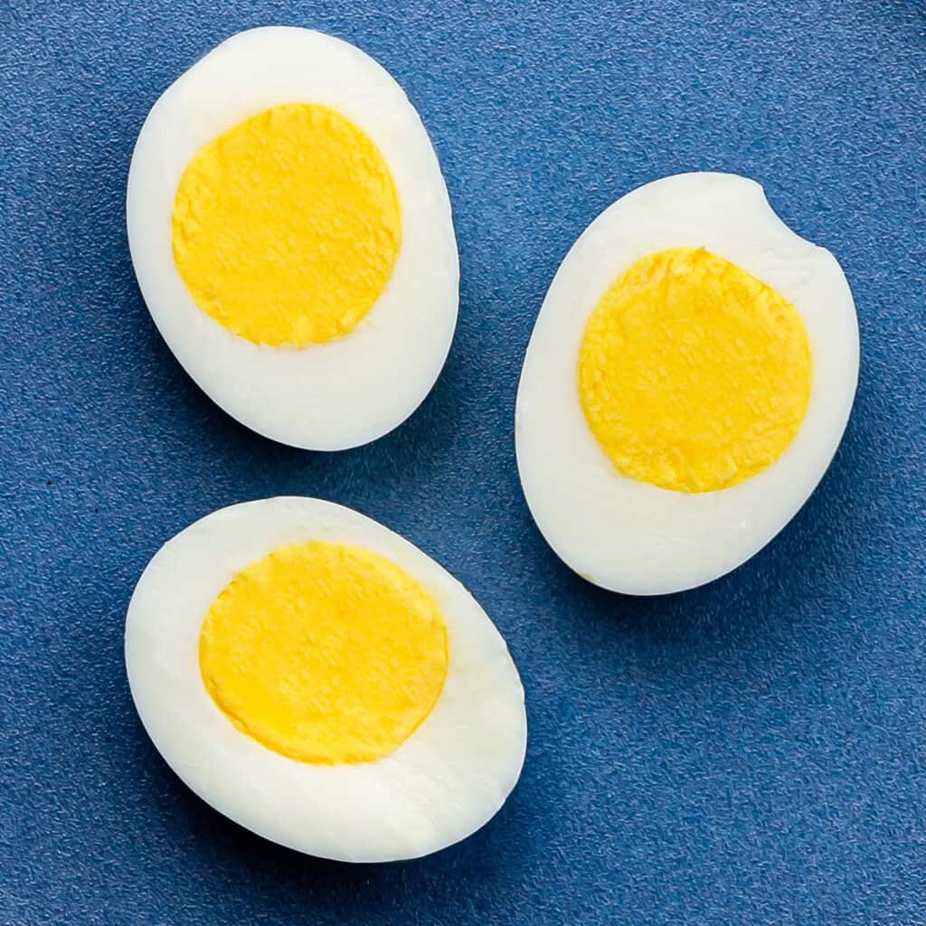 How to cook hard-boiled eggs in an air fryer.