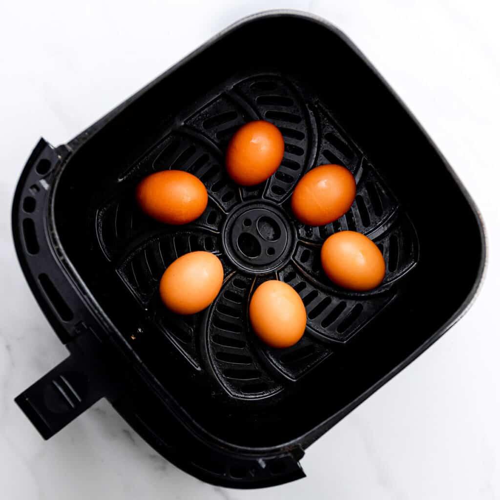 eggs in air fryer.