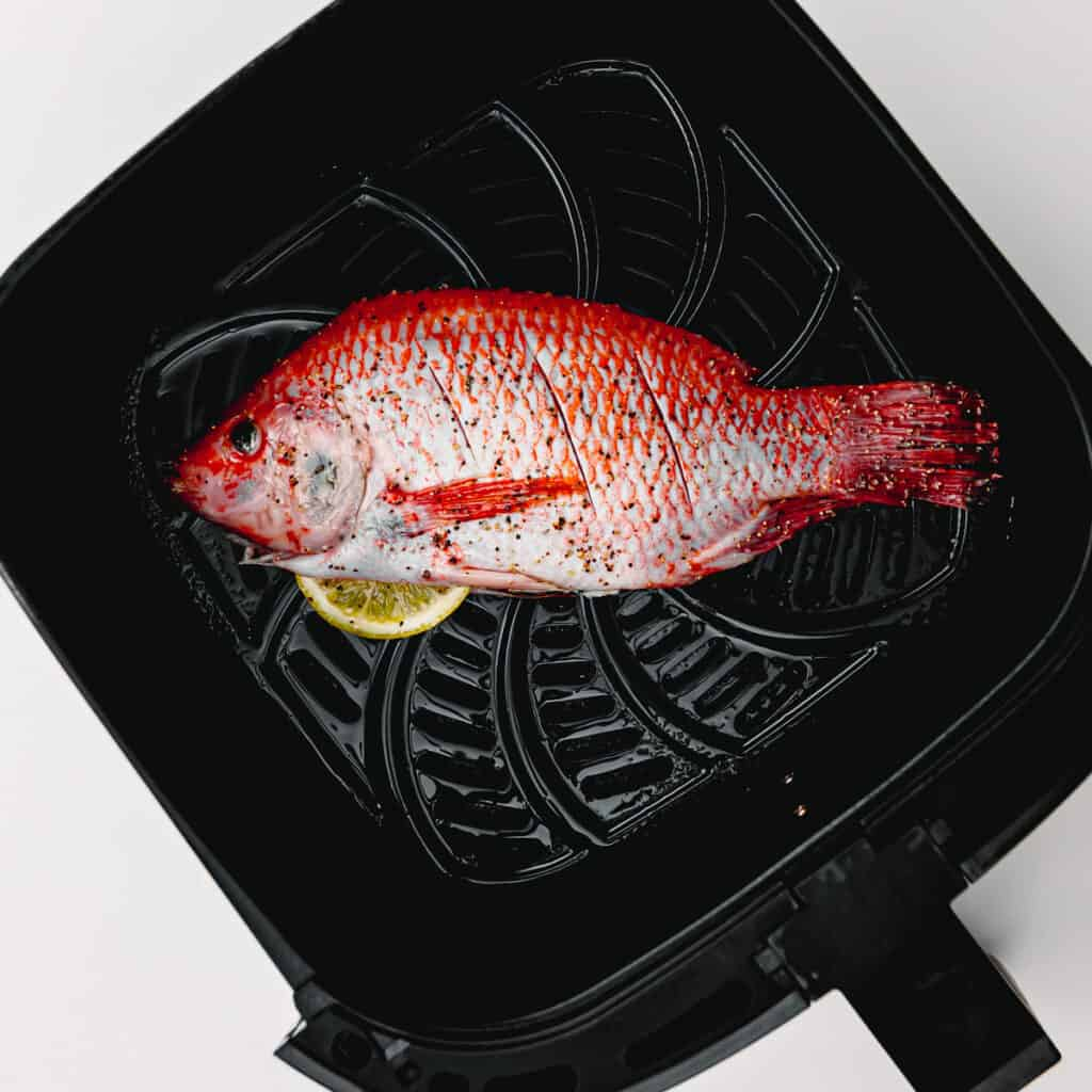 Learn how to cook a tilapia in an air fryer.
