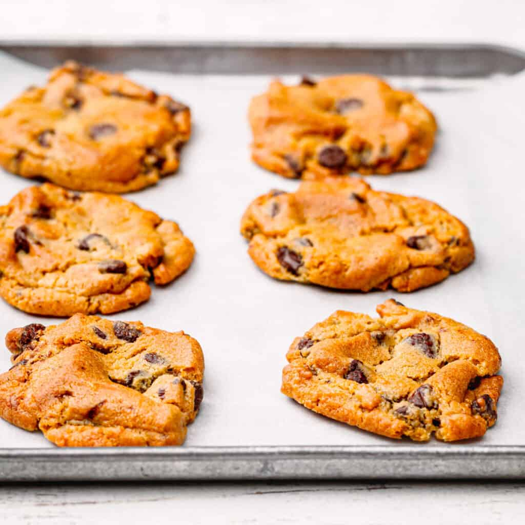 air fryer refrigerated cookie dough.