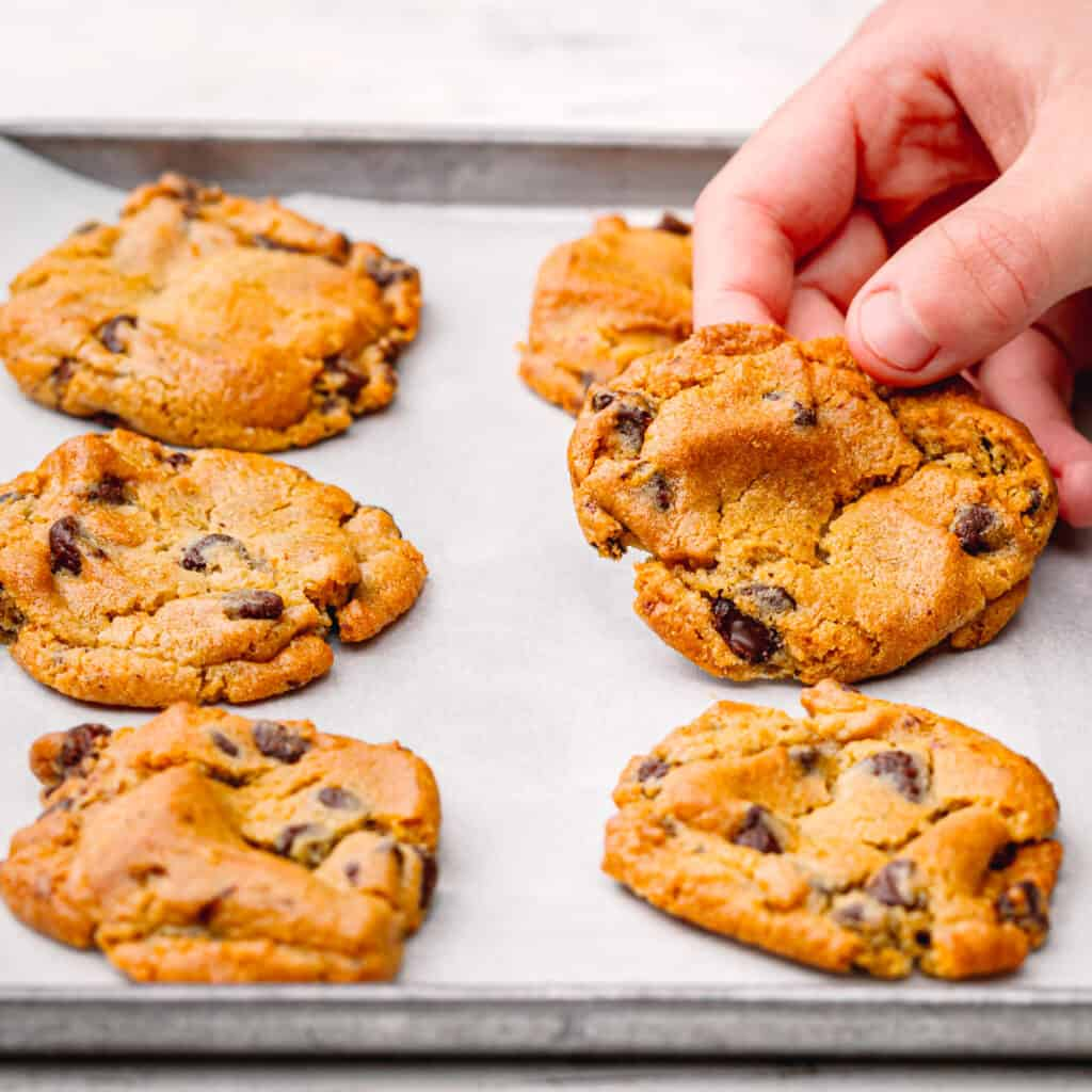 Air Fryer Refrigerated Cookie Dough