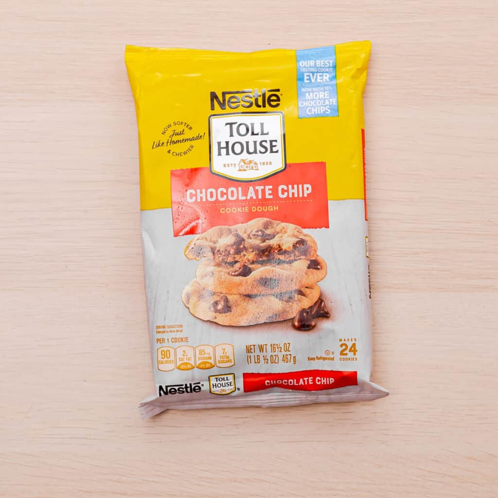 Learn how to cook refrigerated cookie dough in an air fryer
