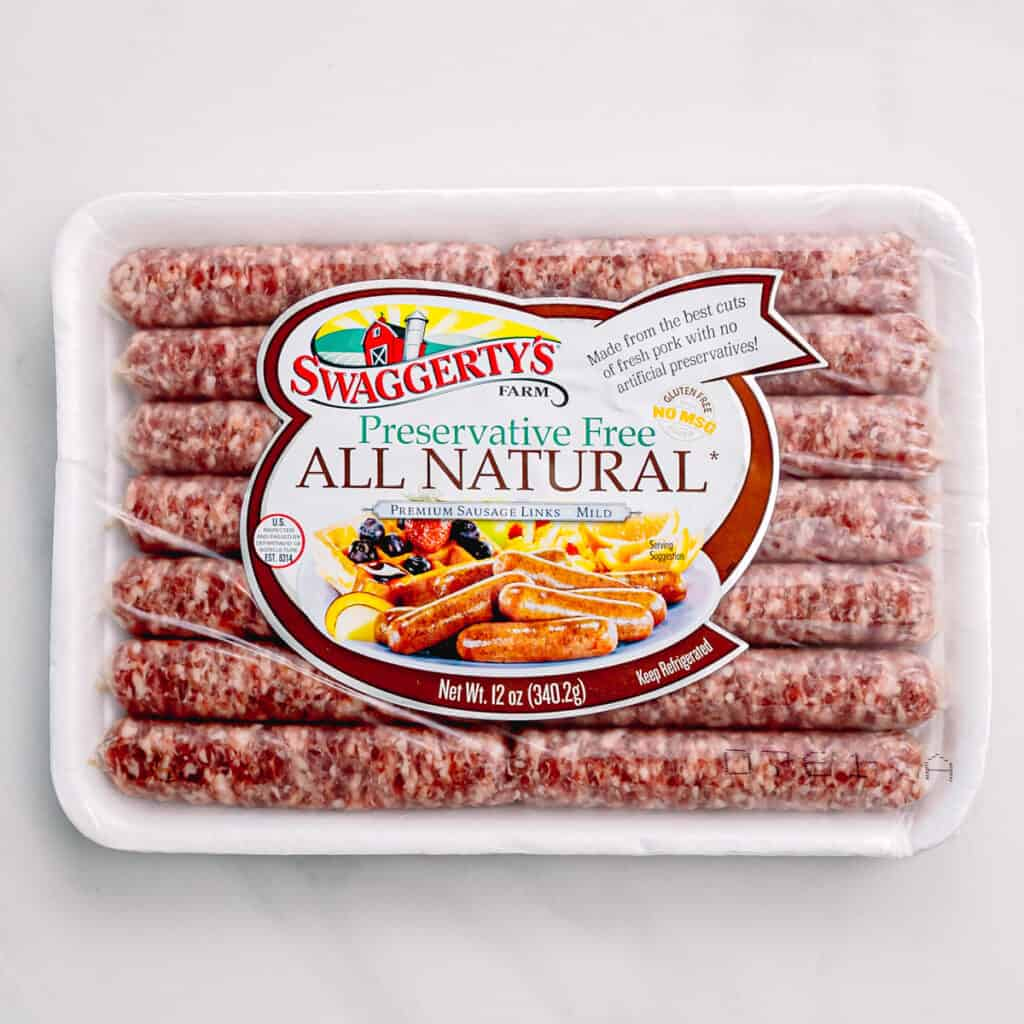 Swaggerty's All Natural Maple premium sausage